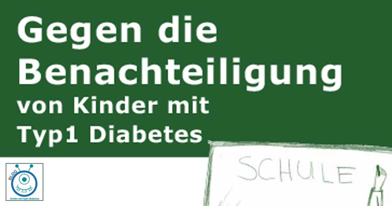 blog kinder diabetes schule politik