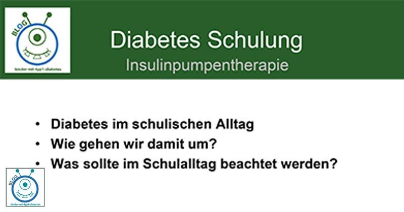blog kinder diabetes lehrer schulung information