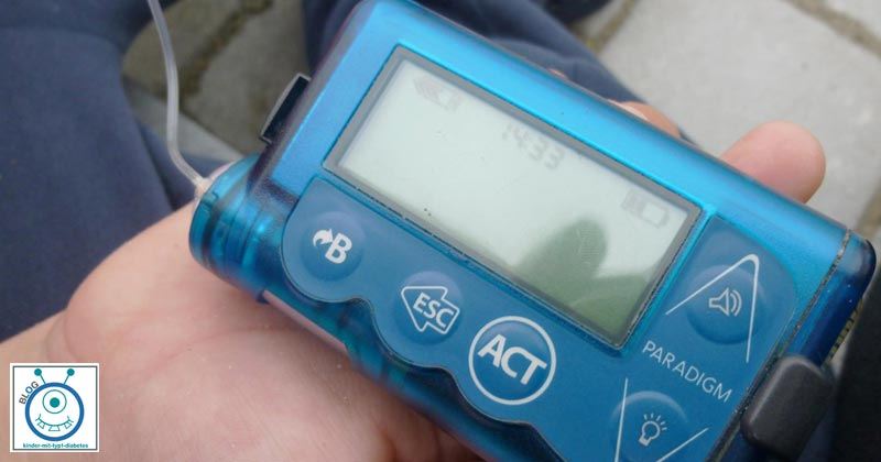 elternblog mamablog Diabetes insulinpumpe