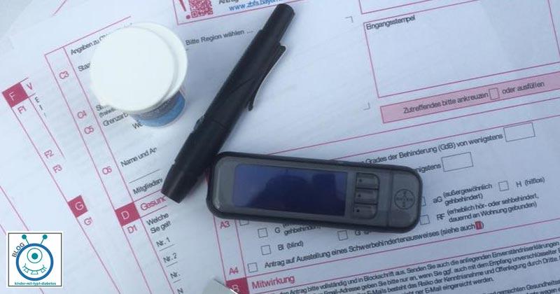 Kind Diabetes schwerbehinderung