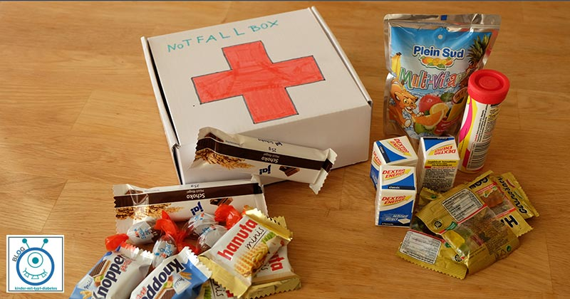 kids notfallbox diabetes ausbildung schule
