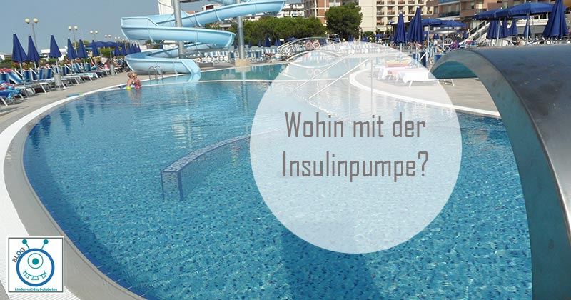 kinder diabetes insulinpumpe schwimmen freibad baden schwimmbad