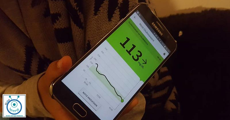 Diabetes app kinder