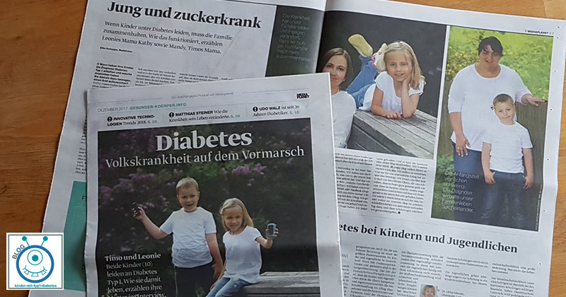 """Interview Diabetes Eltern """"die Welt"""""""