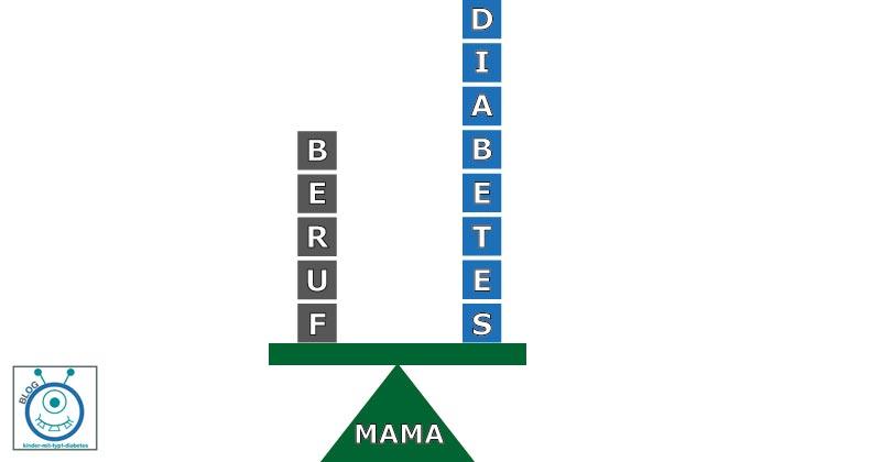 kinder diabetes typ1 berufstätige mütter balance