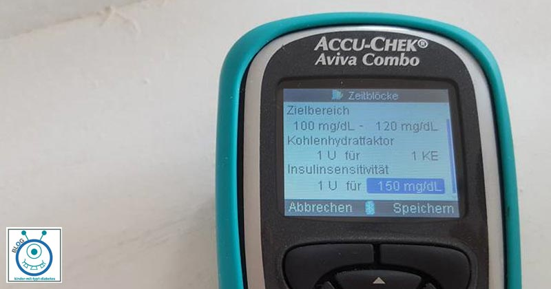 Blog Kinder Diabetes Korrekturfaktor ändern
