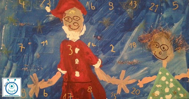 kinder diabetes typ 1 adventskalender