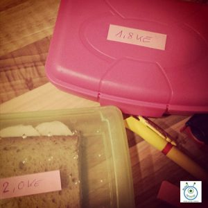 kids diabetes typ1 pausenbrot schule ke be brotbox