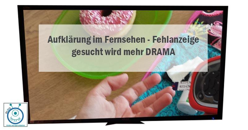 einschaltquoten vor Aufflärung diabetes im fernsehen