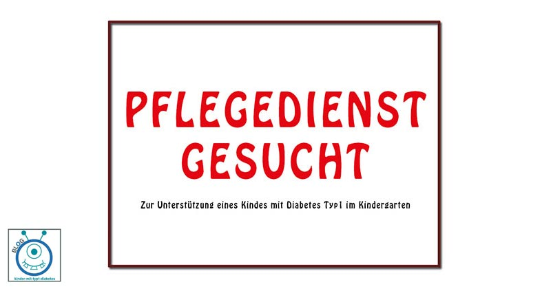 kinder diabetes typ 1 pflegedienst im kindergarten blog