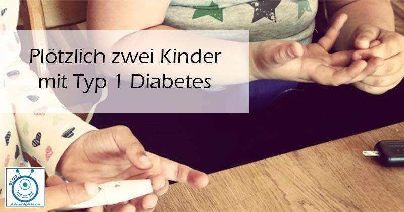 kinder diagnose diabetes Typ 1 geschwister erfahrung blog
