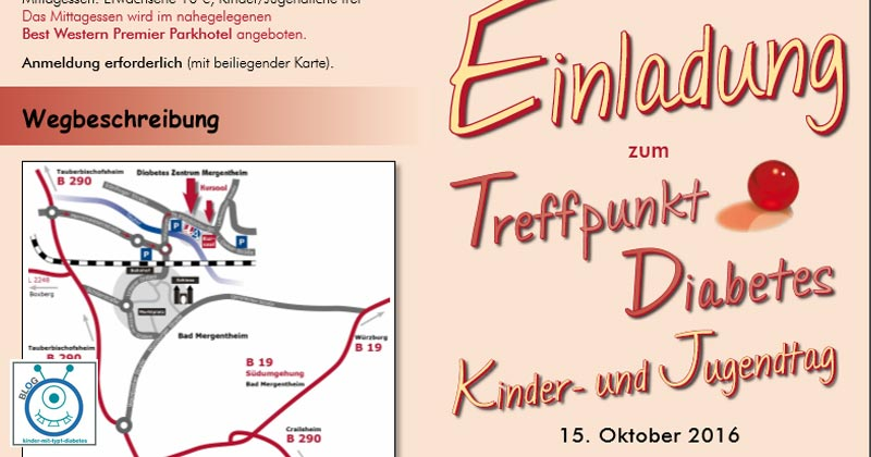 Kinder- und Jugendtag Bad Mergendheim Diabetes