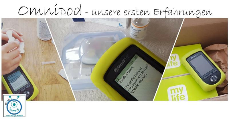 Insulinpumpe Omnipod Kinder Erfahrung