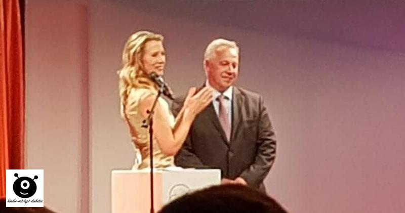 Verleihung Joachim Fuchsberger Preis an Michael Bertsch von Diabetes-Kids.de