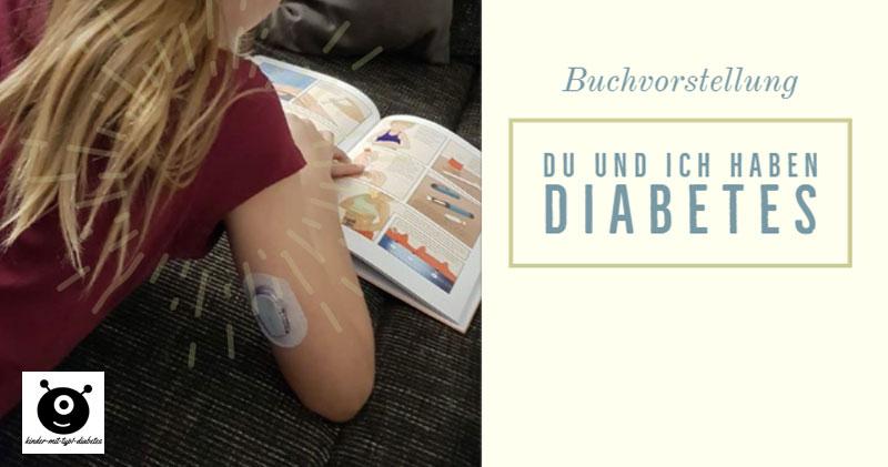 du und ich haben diabetes kinderbuch