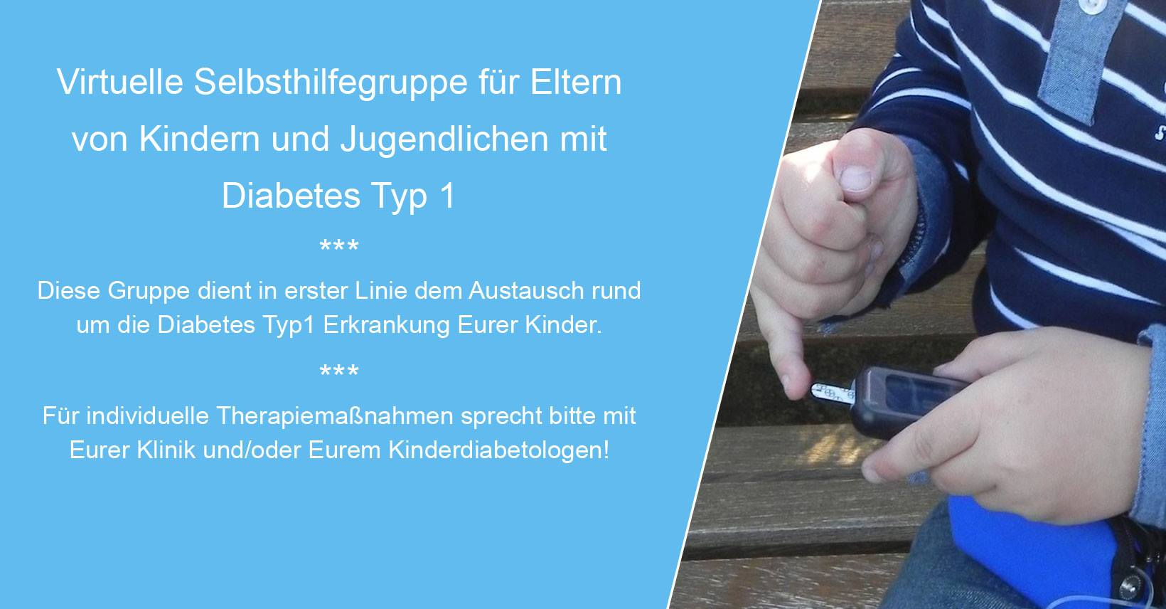 Diabetes Eltern Facebookgruppe