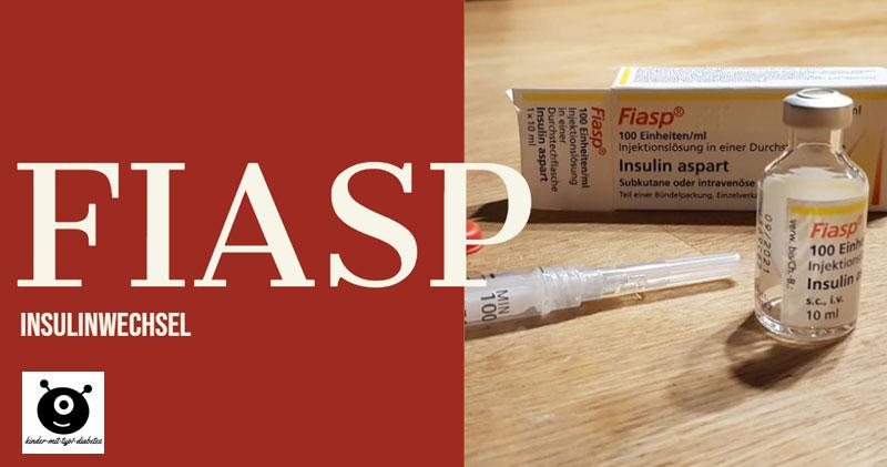 Insulin Fiasp Kinder